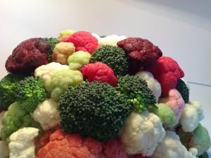 Karfiol brokoli cvetni aranžman