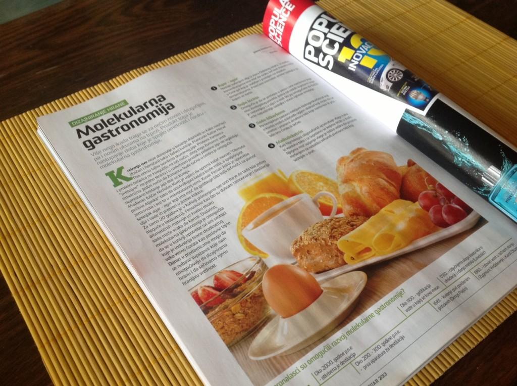 Lisazoid Molekularna Gastronomija Popular Science